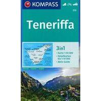Kompass Wandelkaart 233 Tenerife