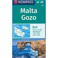 Kompass Wandelkaart 235 Malta En Gozo