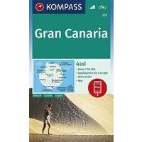 Kompass Wandelkaart 237 Gran Canaria