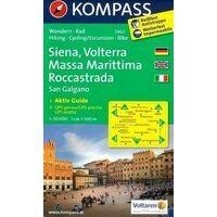 Kompass Wandelkaart 2462 Siena Volterra