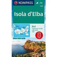 Kompass Wandelkaart 2468 Elba (Isola D'Elba)