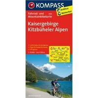 Kompass 3304 Fietskaart Kaisergebirge 1:70.000
