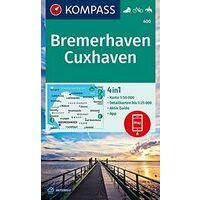 Kompass Wandelkaart 400 Bremerhaven - Cuxhaven