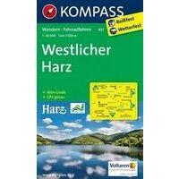 Kompass Wandelkaart 451 Westlicher Harz