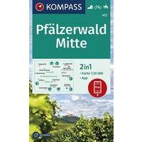 Kompass Wandelkaart 472 Pfälzerwald Mitte