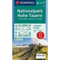 Kompass Wandelkaarten 50 Nationalpark Hohe Tauern