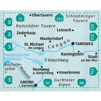 Kompass Wandelkaart 67 Lungau - Radstädter Tauern