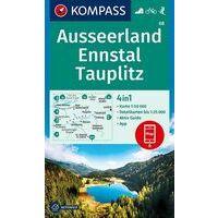 Kompass Wandelkaart 68 Ausseerland - Ennstal - Tauplitz