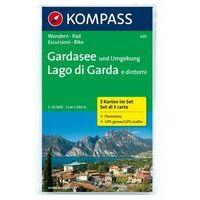Kompass Wandelkaarten 697 Gardameer En Omgeving