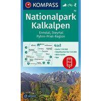 Kompass Wandelkaart 70 Nationalpark Kalkalpen