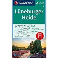 Kompass Wandelkaart 718 Lüneburger Heide