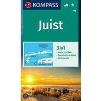 Kompass Wandelkaart 728 Insel Juist