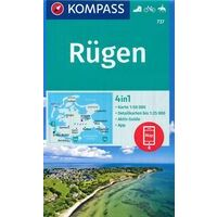 Kompass Wandelkaart 737 Rügen