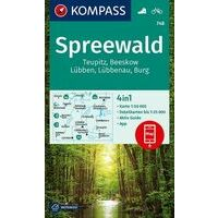 Kompass Kompass 748 Spreewald - Teupitz