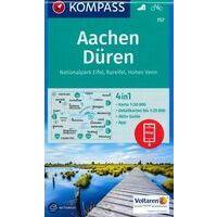 Kompass Wandelkaart 757 Aachen Düren