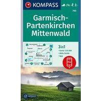 Kompass Wandelkaart 790 Garmisch-Partenkirchen