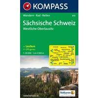 Kompass Wandelkaart 810 Sächsische Schweiz