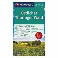 Kompass Wandelkaart 813 Ostlicher Thüringer Wald