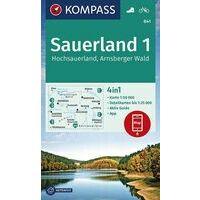 Kompass Wandelkaart 841 Sauerland 1 - Hochsauerland