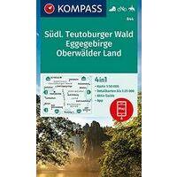 Kompass Wandelkaart Kompass 844 Sudlicher Teutoburger Wald