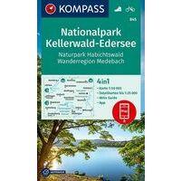 Kompass Wandelkaart 845 National Park Kellerwald-Edersee
