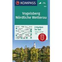 Kompass Wandelkaart 846 Vogelsberg