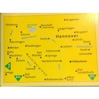 Kompass Wandelkaarten 848 Hannover Und Umgebung