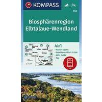 Kompass Wandelkaart 862 Elbtalaue-Wendland