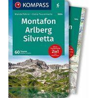 Kompass Wandelgids 5604 Montafon - Arlberg - Silvretta