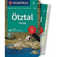 Kompass Wandelgids 5630 Ötztal - Pitztal