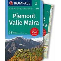 Kompass Wandelgids 5756 Piemont - Valle Maira