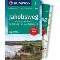 Kompass Wandelgids 5885 Camino Del Norte Jakobsweg