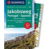 Kompass Wandelgids 5894 Jakobsweg Portugal - Spanien