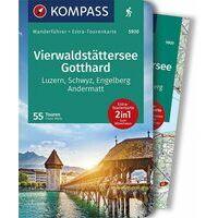 Kompass Wandelgids 5920 Vierwaldstättersee - Gotthard