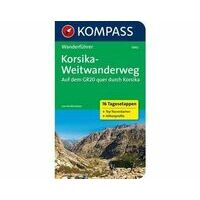 Kompass Wandelgids 5942 GR20 Corsica