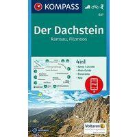Kompass Wandelkaart 031 Der Dachstein