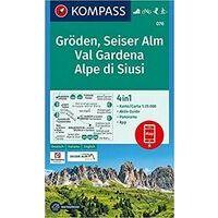 Kompass Wandelkaart 076 Val Gardena - Gröden - Seiser Alm