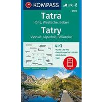 Kompass Wandelkaart 2100 Tatra 1:50.000