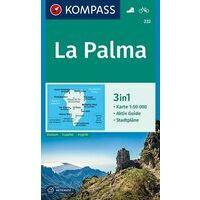 Kompass Wandelkaart 232 La Palma