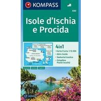 Kompass Wandelkaart 680 Isole D'Ischia E Procida