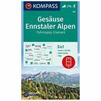 Kompass Wandelkaart 69 Gesause - Ennstaler Alpen