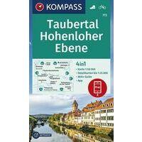 Kompass Wandelkaart 772 Taubertal - Hohenloher Ebene
