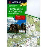 Kompass Wandelkaart 2504 Hermannsweg Und Eggeweg