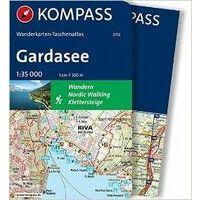 Kompass Wandelkaartatlas 2752 Gardasee 1:35.000