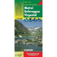 Freytag En Berndt Wandelkaart WK123 Matrei