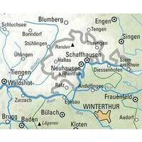 Kummerly En Frey Fietskaart 1 Schaffhausen