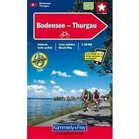Kummerly En Frey Fietskaart 2 Bodensee Thurgau