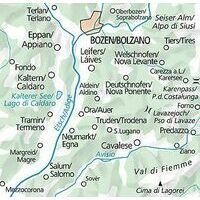Kummerly En Frey Outdoorkarte 03 Bolzano Caldaro 1:35.000