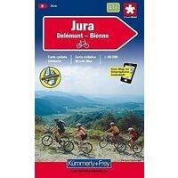 Kummerly En Frey Fietskaart 3 Jura