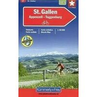 Kummerly En Frey Fietskaart 7 St. Gallen